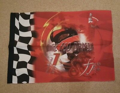 Michael Schumacher Flagge Fahne The Red Dragon
