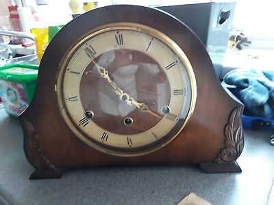 Lovely Old Bentima Chiming Mantle Clock
