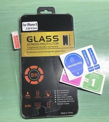 Cristal Templado Protector Pantalla Iphone 7/8 Tempered Glass Premiun De 0,3Mm