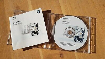 Bmw C1 literature and Press Pack (CD)