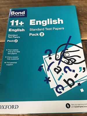 11+ English Standard Test Papers Pack 2