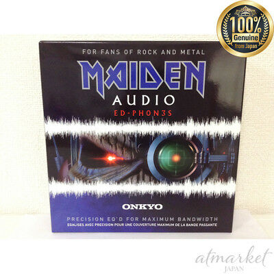ONKYO Headphone ED-PH0N3S Rock & Heavy Meta overhead dynamic Sealed type JAPAN