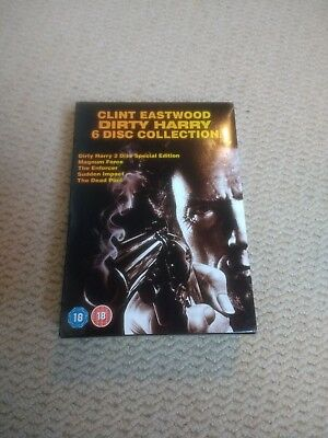 Dirty Harry Collection Clint Eastwood DVD movies boxset box coffret