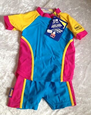 🌺NEW🌺 Baby UPF 50+ FLOATIES Very High Protection Swimwear Size 12-24mths 🌺🌺