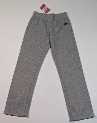 Nike Girls Grey Jogging Bottoms Age 10-12 Years L27 Medium New
