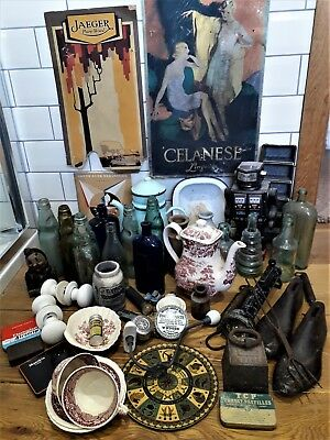 Collection of antique Items