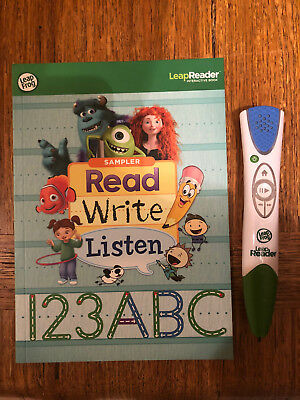 LeapFrog LeapReader Pen Reading And Writing System, With 4 Books (Age 4-8)
