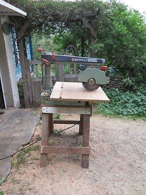 Dewalt Power Shop DW 125, Radial Arm Saw, 240v, + Stand