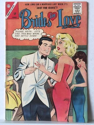 Brides In Love # 37 FN/VF 7.0 Charlton Comics Romance