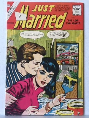 Just Married # 28 VF+ 8.5 Charlton Comics Romance