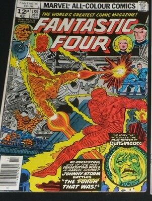 FANTASTIC FOUR #189  Marvel Comics 1977 GREAT COPY AND ONLY 99P START 1