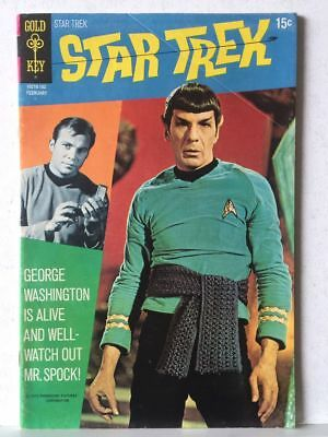 Star Trek # 9 FN+ 6.5 Photo Cover Gold Key Comics