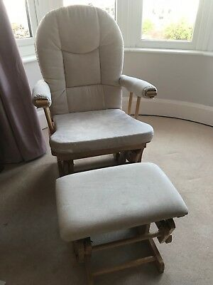 ***Kiddicare Maternity nursing chair & stool in very good condition!***