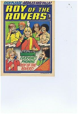 10 x 1978 Roy of the Rovers Comics eEx Con