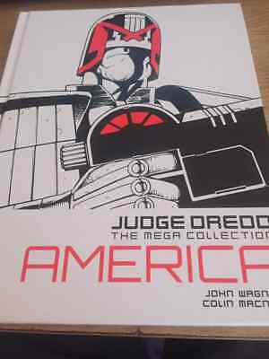 Judge Dredd - The Mega Collection America - Hard Back Book  USW