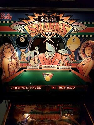 Flipper Pool Shark von Balls ( Thema Billiard)