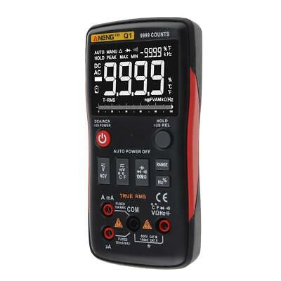 ANENG Q1 True-RMS Digital Multimeter Button 9999 Counts with Analog Bar Graph YO