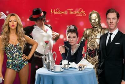 2 x eTickets to Madame Tussauds London valid 10am Friday 15 February 19 15/02/19