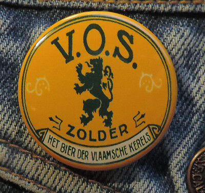 Pin Button Badge Ø38mm Bier Zolder V.O.S.🍺