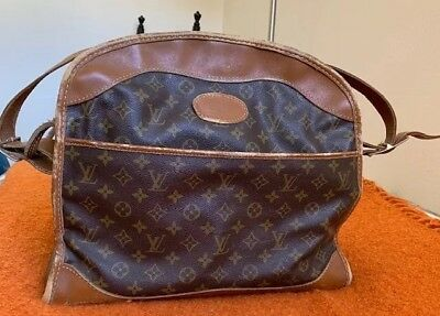 Authentic Vintage 1960's Extremely Rare Louis Vuitton Monogram Travel Bag