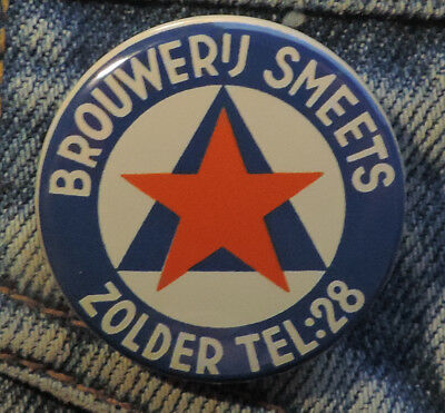 Pin Button Badge Ø38mm Bier Brouwerij Smeets Zolder  🍺