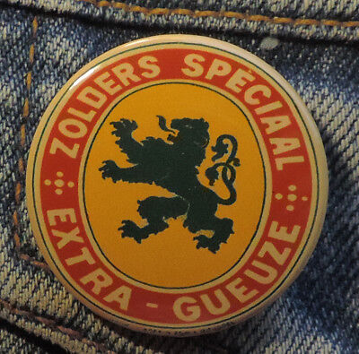 Pin Button Badge Ø38mm Bier Zolder Speciaal Extra Gueuze 🍺
