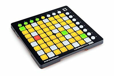 Novation Launchpad Mini Compact USB Grid Controller for Ableton Live, MK2 Ver...