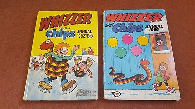 Whizzer & Chips Annual 1982 & 1986