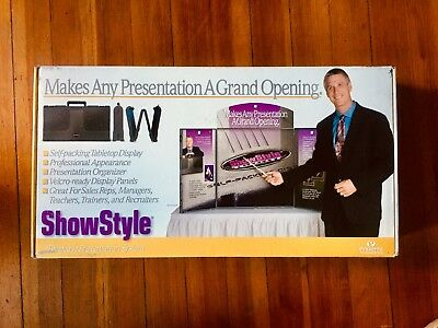 Prezenta ShowStyle Tabletop Mini Trade Show Style Briefcase (NEW)