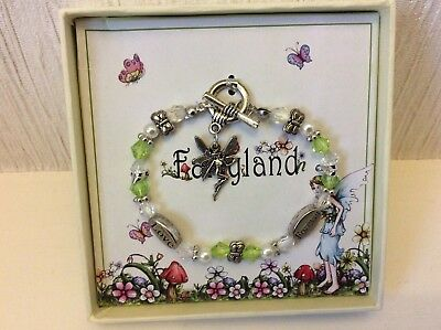 Child'S Fairyland Bracelet In Box ( Make Good Stocking Filler )