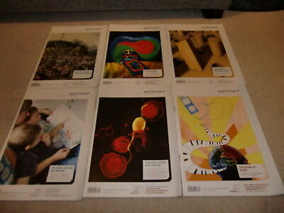 The Psychologist (British Psychological Society Magazine)- 6 issues Vol 22, 7-12