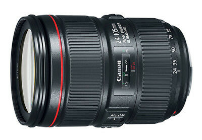 BRAND NEW Canon Zoom EF 24-105mm  4L IS II USM LENS IN WHITEBOX UK ROYAL MAIL D