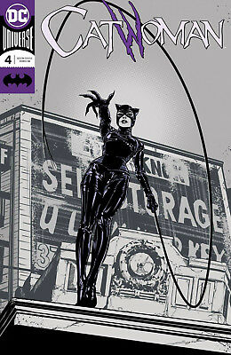 CATWOMAN #4 Foil Cover DC Rebirth 1st Print New NM Bagged & Boarded