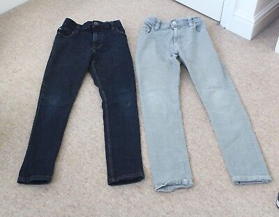 2 Pairs of Next Boys Skinny jeans aged 11
