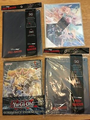 Stock Deck Box Yu-Gi-Oh Force Of Will FOW Sleeves Ultra Pro Binder