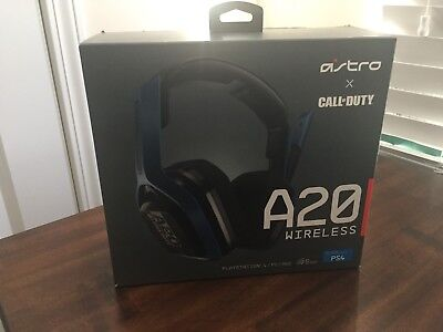 Astro Gaming A-20 Call of Duty Wireless Gaming Headset for PS4/PC/MAC - Navy