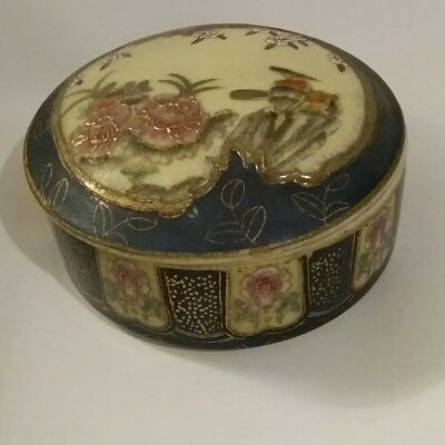 Royal Satsuma  Trinket Box