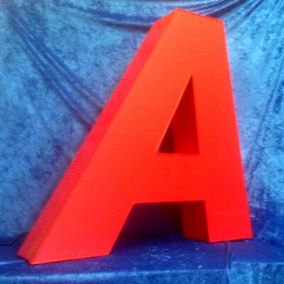 LED Buchstabe *A* Big Size inkl. Netzteil *TOP EYECATCHER Shabby Chic