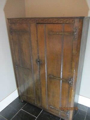 Vintage French style cupboard / armoire