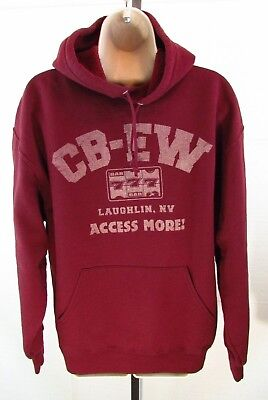 Vintage CB-EW Unisex Size L Hoodie Sweatshirt from Laughlin Nevada Casinos