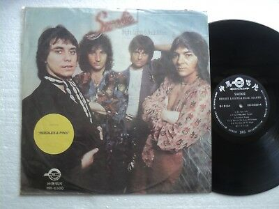SMOKIE - Bright Lights & back Alleys - Rare Taiwan only Ltd edit. release  LP