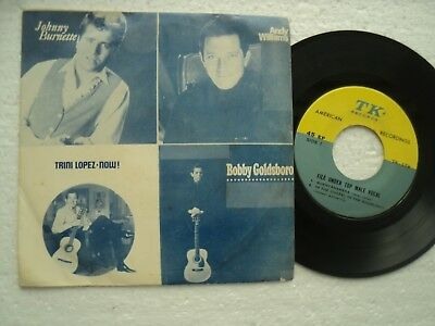 JOHNNY BURNETTE + 3 - Rare THAILAND only release EP