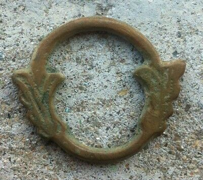 CELTIC TWO HEAD HORSE WHEEL MONEY-400bc