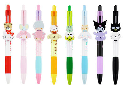 Sanrio Pens with Sliding Mascots (Set of 8 Characters)