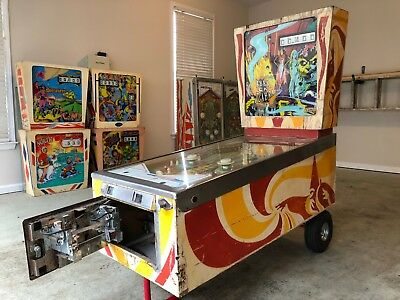 Abra Ca Dabra Pinball Machine Project AS-IS Needs Works
