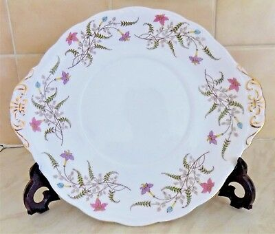 Stunning Royal Standard Fancy Free Cake Plate Made in England