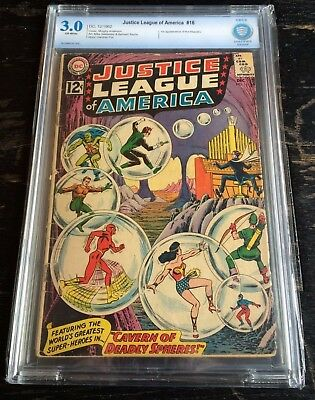 Justice League Of America #16 CBCS 3.0 1st Appearance Of Maestro Not CGC
