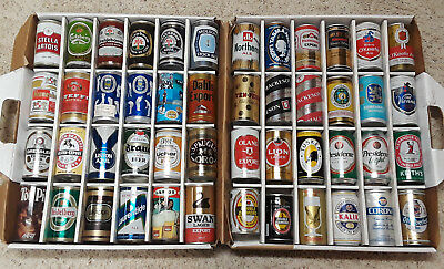Lot of 48 Foreign Pull Tab Top Beer Can-Kenya,France,Bolivia,Norway,South Africa