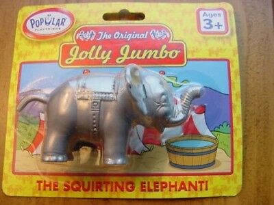 "New Jolly Jumbo "" The Squirting Elephant"" With Trunk Up"
