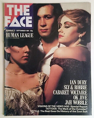The Face magazine #17 September 1981 exc condition